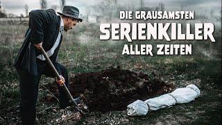 Die grausamsten Serienkiller aller Zeiten - krasse Doku (Dokumentation, Reportage, deutsch) - Dokus