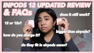 INPODS 12 UPDATED REVIEW (after 1 month of use) | Hey It's Ely!