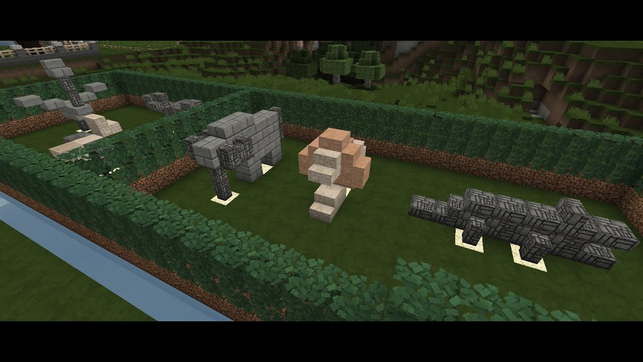 minecraft tutorial how to build small garden statues - Minecraft Garden Designs