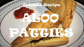 Aloo Patties (Puffs) Recipe with Ready-made Puff Pastry Sheets