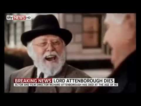 Actor Richard Attenborough dies