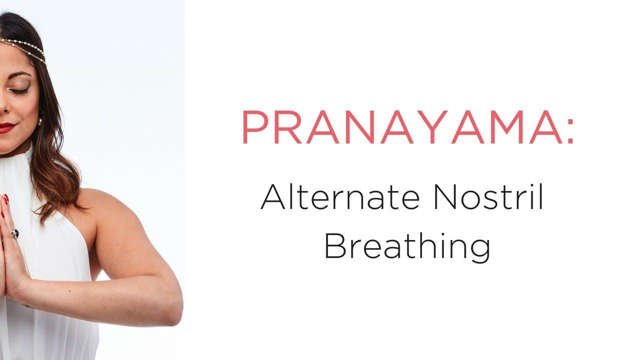 Alternate Nostril Breathing Increases Vital Energy - Calm