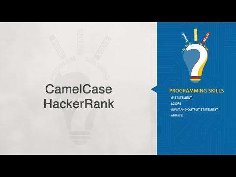 HackerRank-Camel Case