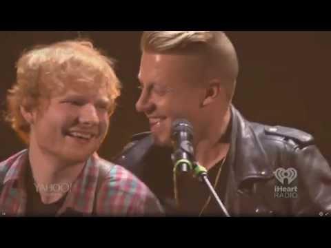 Ed Sheeran w/ Macklemore- Same Love [iHeartRadio 2014]