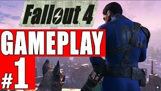 FALLOUT 4 - 9 Minute Demo Gameplay Walkthrough Part 1 E3 2015 HD