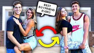 Switching Girlfriends With Jatie Vlogs For 24 Hours - Challenge