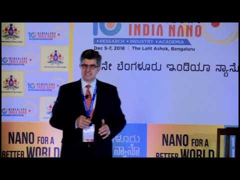 Prof  Yury Gogotsi, Drexel University, USA- Distinguished Lecture, 10th  Bengaluru India Nano