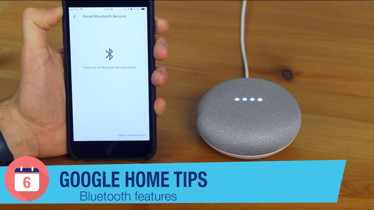 Bluetooth mini google home
