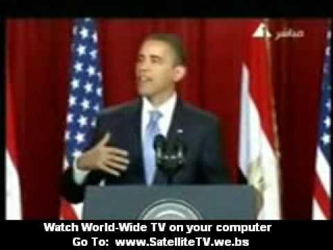 2009 President Obama speaks to the muslim...