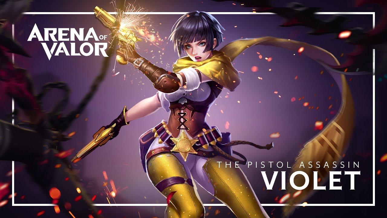 Violet: Hero Spotlight | Gameplay - Arena of Valor