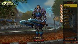 WoW: Legion (Alpha) - Level 110 Fury Warrior Duels vs Druids & Demon Hunters - Legion PvP