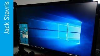 Windows 10 Creators Update (1703) Installation & Tour