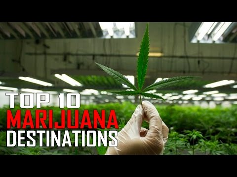 Top 10 Marijuana Travel Destinations