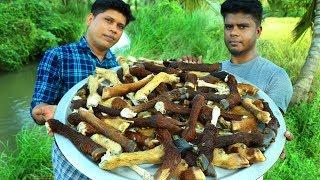 GOAT LEG SOUP  Healthy Soup Recipe  Cooking Skill Mutton Paya  Village Food Channel