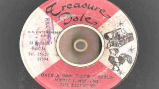 justin hinds - once a man twice a child - treasure isle records  rocksteady