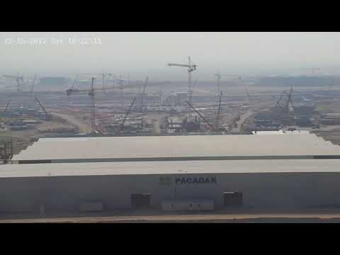 Kuwait International Airport New Passenger Terminal Construction site 15/01/2018