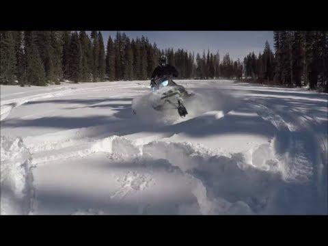 Snowmobiling Grand Mesa Colorado Jan 2018