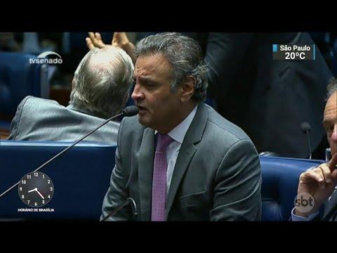 Deputado diz ter sofrido pressão de Aécio Neves e Renan Calheiros | SBT Brasil (20/04/18)
