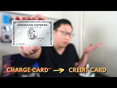 Amex Plat, Gold, And Green No Longer Charge Cards??
