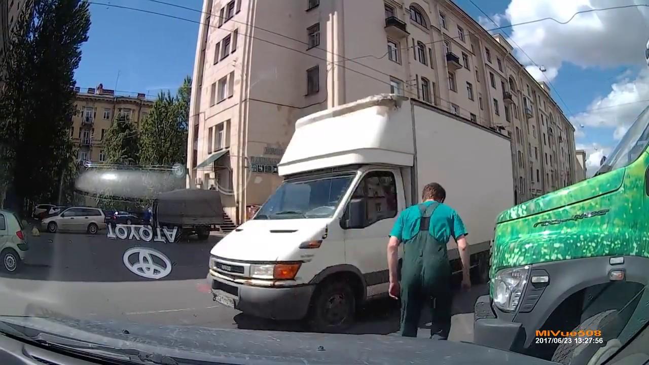 ДТП на ул. Бабушкина перед  Ивановской