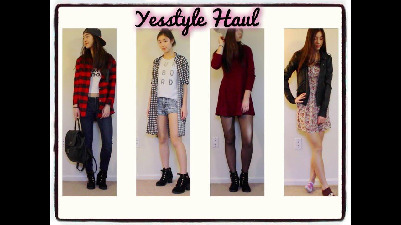 YesStyle Haul 2015 ! - YouTube