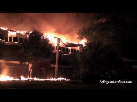 Extra Alarm Fire at Colonial Greens Apartments in Mount Prospect