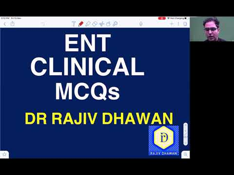 Download Comprehensive Discussion of 70 ENT Clinical Statement based Questions.  Rajiv Dhawan ENT Educator