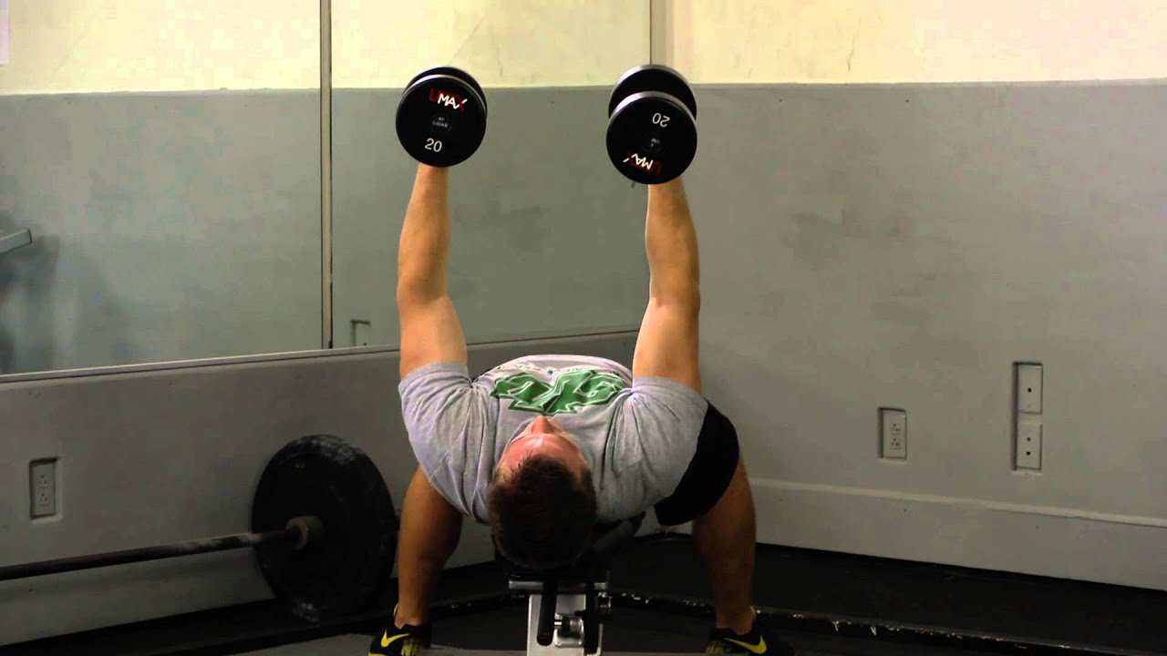 Double Dumbbell Pullover - YouTube