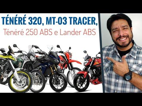 Ténéré 320, MT 03 Tracer, Ténéré 250 ABS E Lander ABS