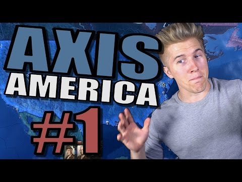 Hearts of Iron 4 - Fascist USA [AXIS AMERICA] Gameplay - HOI4 Part 1 - The Great Depression