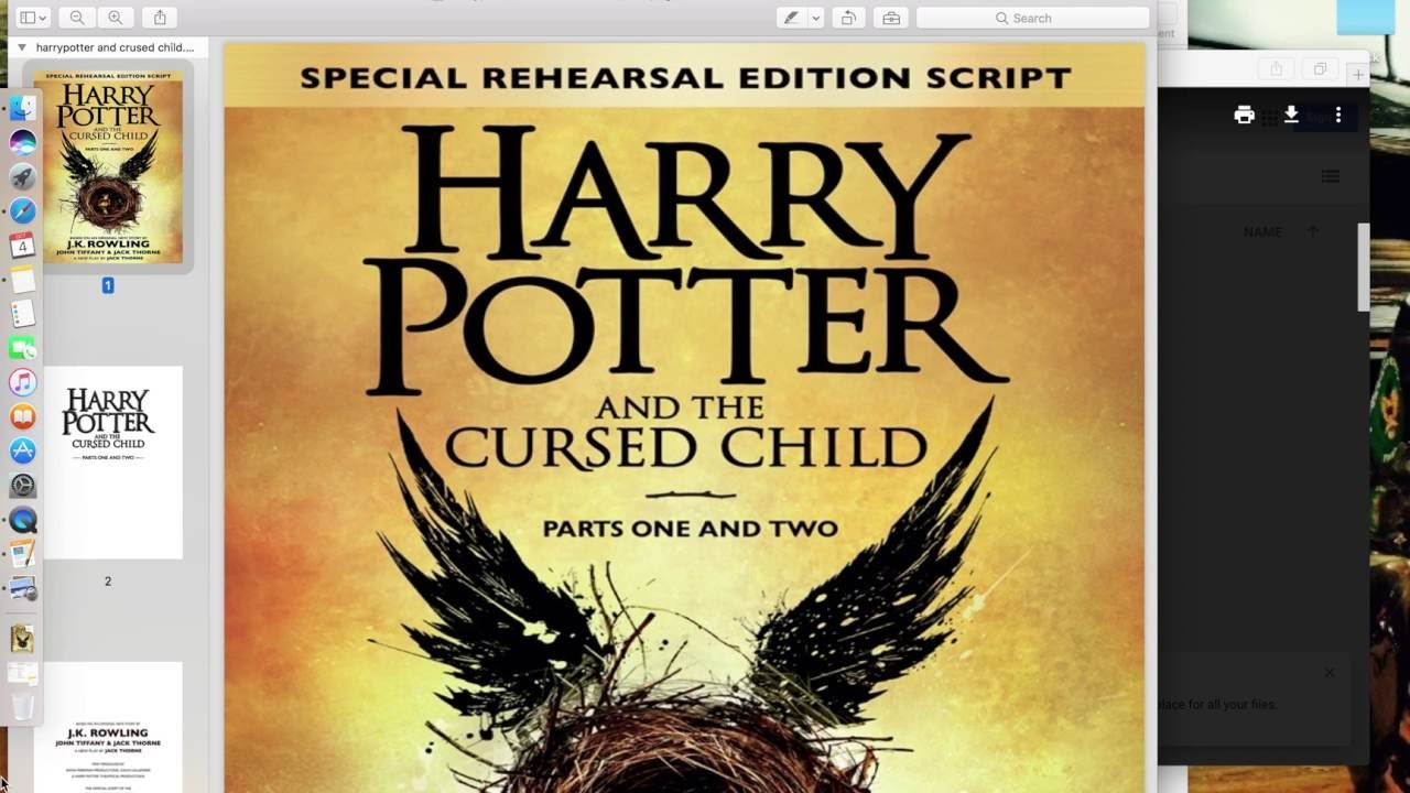 Harry Potter And Cursed Child Pdf In Hindi