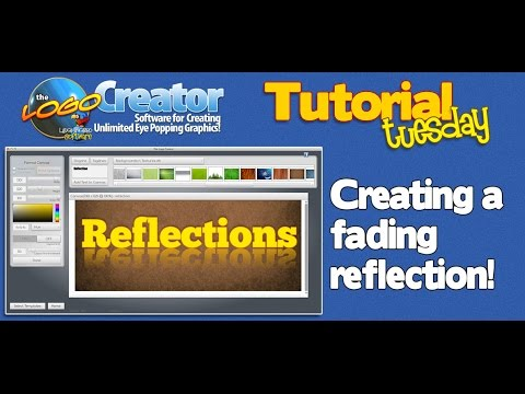 Web Design Tutorial - How to Create a Reflection