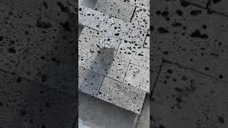 현무암 벽돌 보도블럭 …