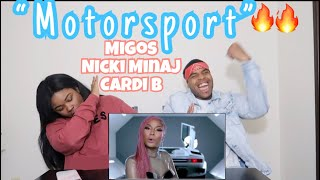 Migos, Nicki Minaj, Cardi B - MotorSport (Offical video) | REACTION!!!