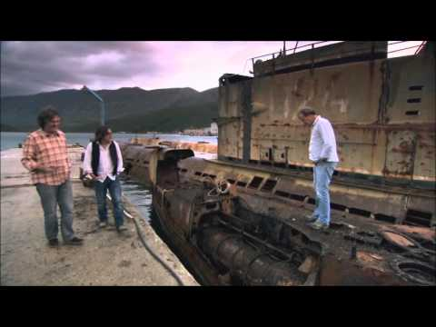Top Gear Albania Special - Submarine Base