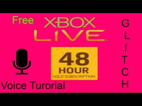 Free Xbox Live Gold 48 Hour Trial Tutorial | Patched |