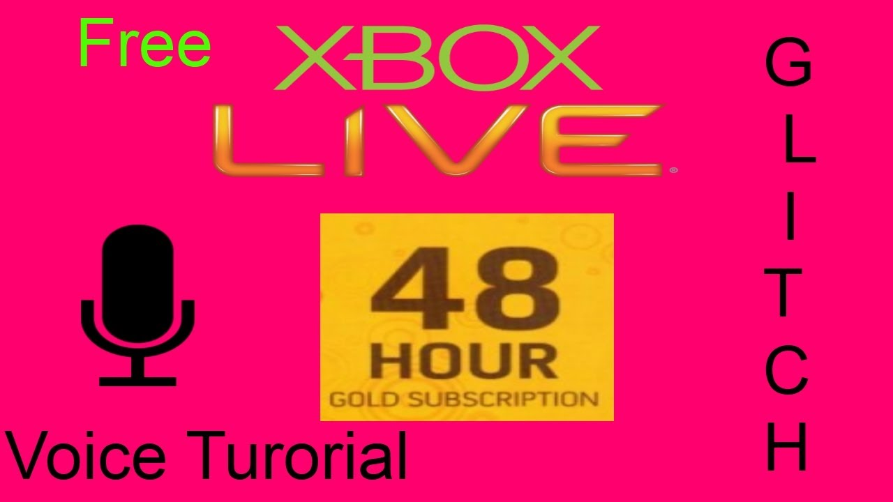 Free Xbox Live Gold 48 Hour Trial Tutorial Patched