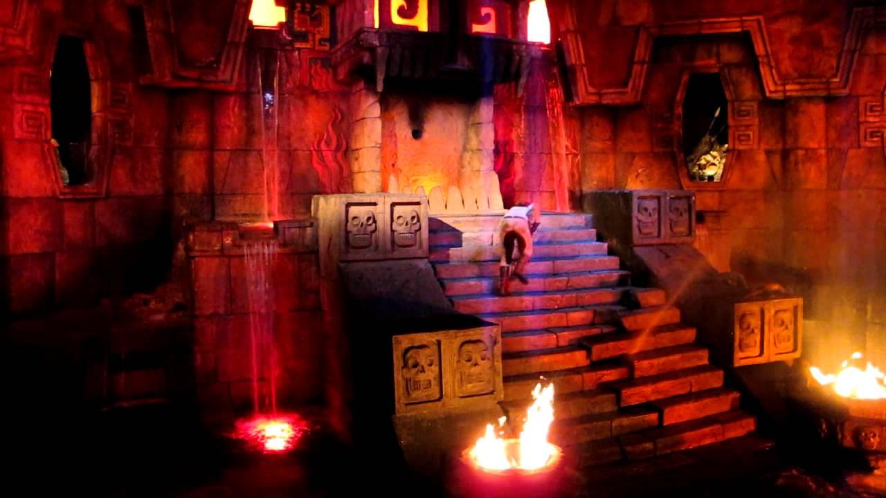 Acor3 Video 017 Port Aventura El Templo Del Fuego Youtube