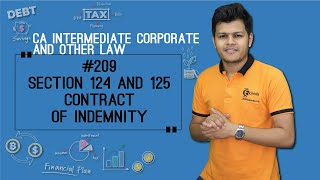 Section 124 and 125 Contract of Indemnity - Indian Contract Act 1872 - CA Intermediate
