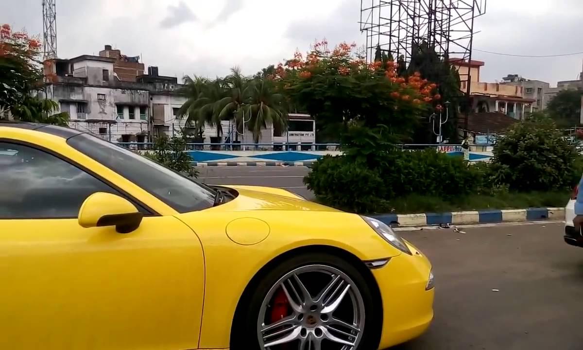 Super Cars In Kolkata Youtube