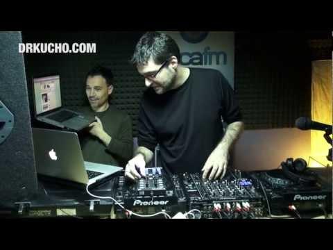 """Dr. Kucho! con DJ Tango en """"La Isla"""" (Loca FM) - Lo que no se ve :) 20.04.12"""