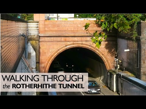 Walking Through The Rotherhithe Tunnel