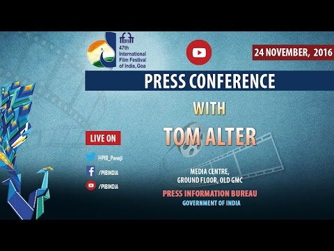 IFFI 2016: Press Conference with Tom Alter