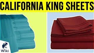 8 Best California King Sheets 2019