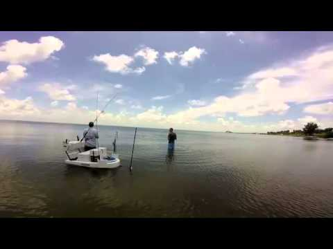 Fishing with seamule wade cart youtube for Wade fishing caddy