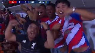 Video Kuala Lumpur (1) vs Johor JDT(0) Liga Super download MP3, 3GP, MP4, WEBM, AVI, FLV November 2018