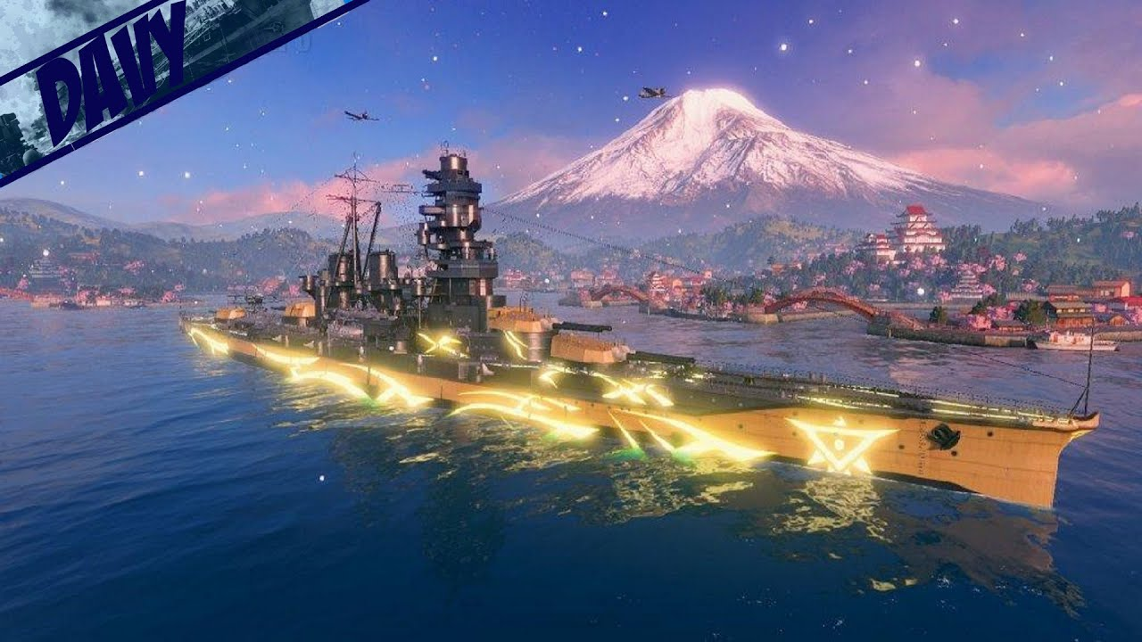World of Warships Gameplay ITA - ARP Haruna - YouTube