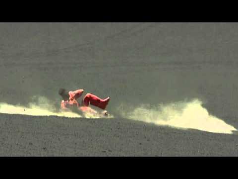 2002 Cerro Negro La chute