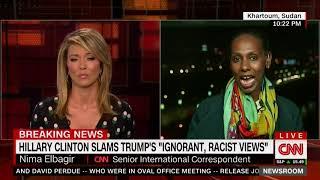 CNN journalist Nima Elbagir in Sudan with reaction to Trump's