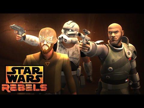 Ghosts of Geonosis: A bridge to far | Star Wars Rebels | Disney XD